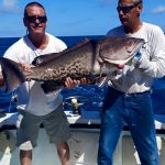Grouper caught on the Incentive