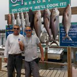 Captain Bruce Alcock and Client with fish
