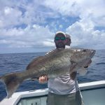 Grouper aboard the Incentive