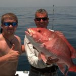 Captain Bruce with a Snapper