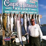 Captain Bruce with fish caught