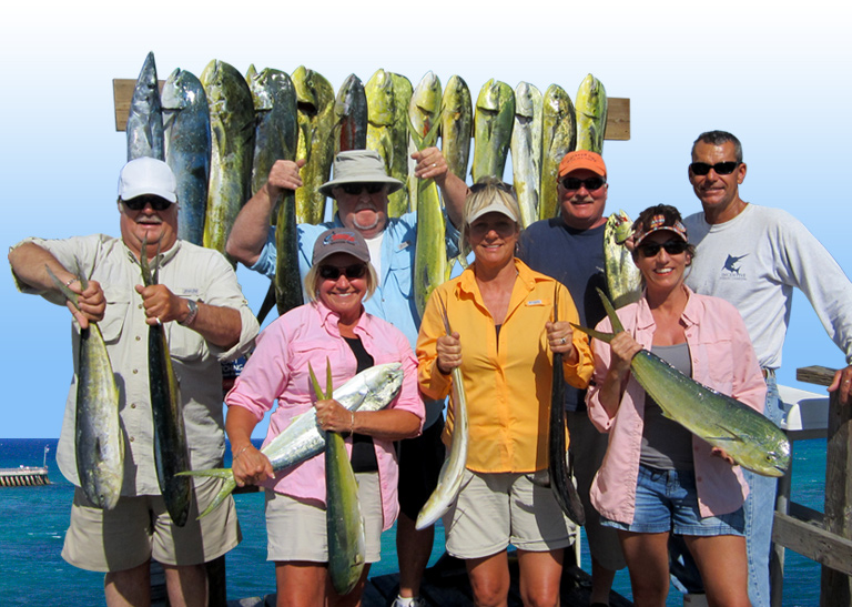 Fish Caught aboard the Incentive Charter
